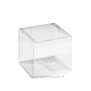 Scatola trasparente in PVC Varie Dimensioni - Scatole bomboniere