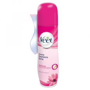 VEET Crema Depilatoria Spray Pelli Normali 150ml
