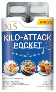 XLS KILO-ATTACK POCKET 10 COMPRESSE