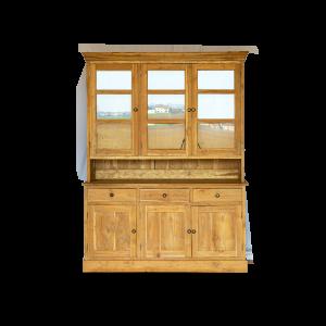 Vetrinetta / Credenza in legno di teak balinese