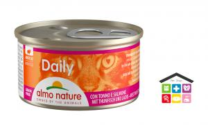 Almo  Nature Umido Daily mousse con tonno e salmone 0,85gr