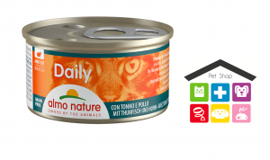 Almo Nature Daily Mousse con Tonno e Pollo 0,85g