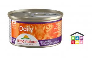 Almo Nature Daily Mousse con Coniglio 0,85g
