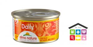Almo nature Daily Mousse con Pollo 0,85gr