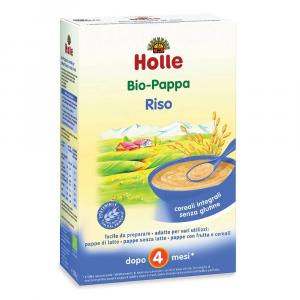 Pappa di riso integrale: dopo i 4 mesi Holle