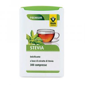 Dolcificante a base di estratto di stevia in compresse Raab