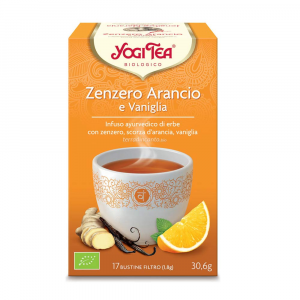 Yogi tea zenzero arancio e vaniglia Yogi tea