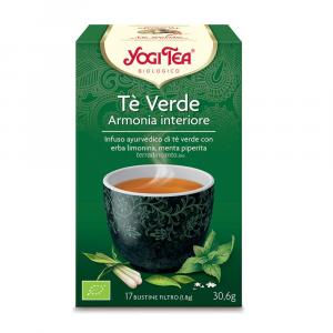 Yogi tea tè verde armonia interiore Yogi tea