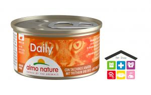 Almo nature Daily Dadini Con Tacchino E Anatra 0,85