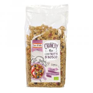Crunchy con frutti di bosco Fior di loto