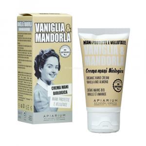 Crema mani vaniglia e mandorla Apiarium