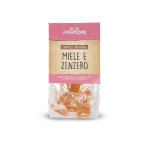 Apinfiore, Caramelle Miele e Zenzero 50 gr