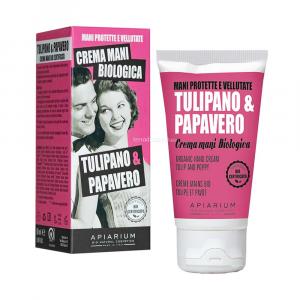 Crema mani tulipano e papavero Apiarium