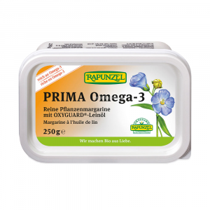 Prima omega3 - margarina vegetale con olio di lino Rapunzel