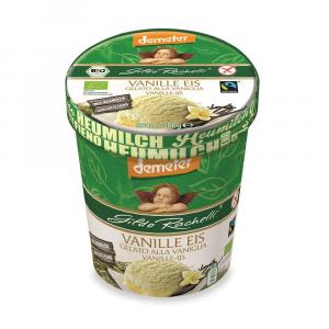 Gelato in barattolo alla vaniglia senza lattosio (lattosio