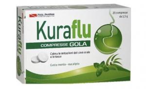 Kuraflu Gola Eucalipto 20 Compresse 1.5g