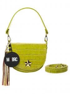 M-BRC  Borsa a tracolla Cocco verde