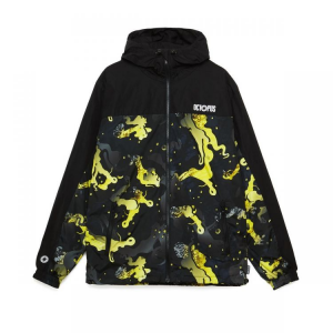 OCTOPUS Jacket Camo hood