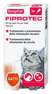 Beaphar  Pipette Fiprotec per Gatti