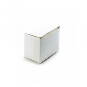 Scatola avorio classica cm 8 x 4,2 x 5 H