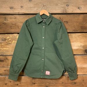 Camicia Giacca Department 5 Beller Donna Verde Militare