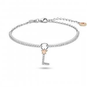 Bracciale tennis donna in argento 925 Comete Gioielli Iniziale L BRA188