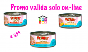 Petreet le vellutate sterilised tonno con mais-tonno e patate dolci-tonno e zucca 0,70g