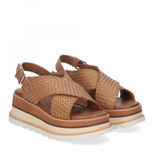 Rahya Grey sandalo bianca pelle cuoio