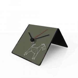 Orologio da tavolo con calendario perpetuo Totem Dog 10x10x10 cm