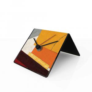 Orologio da tavolo con calendario perpetuo Lissitzky 10x10x10 cm