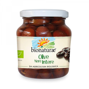 Olive nere intere Bionaturae