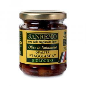 Olive taggiasche in salamoia Sanremo