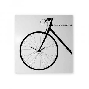 Orologio da muro Bike bianco