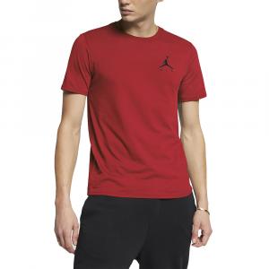 Jordan T-shirt con Logo Rossa da Uomo