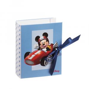 Libro portaconfetti Michey Mouse go auto