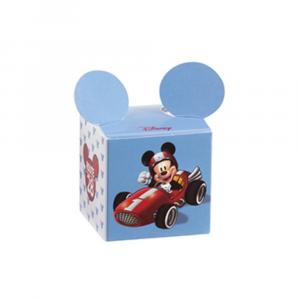Cubo portaconfetti Michey Mouse go auto