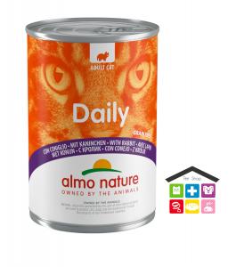 Almo Nature Daily Grain Free Recipe Con Coniglio 0,400g