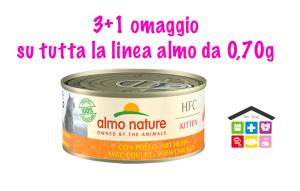 Almo Nature Umido HFC per Gatti - Kitten Pollo 0,70G