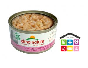 Almo Nature Gatto | Linea Light HFC | Gusto Orata e Patate - 70 gr