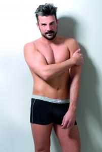Boxer shorts in cotone elasticizzato, cod. BX45111