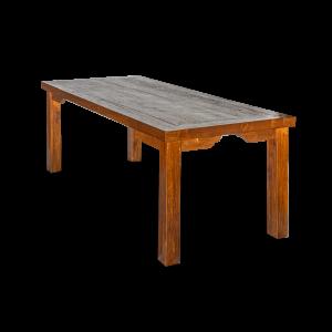 Tavolo in legno di teak indonesiano recuperato