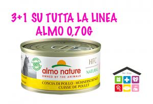 Almo Nature Umido HFC per Gatti - Coscia di Pollo 0,70G