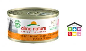 Almo Nature HFC Natural Pollo e Tonno 0,70g