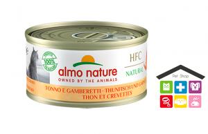 Almo Nature HFC Natural Tonno e Gamberetti 0,70g