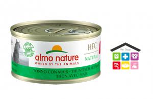 Almo Nature HFC Natural Tonno con Mais 0,70g