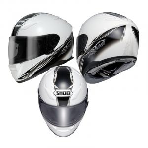 CASCO SHOEI XR 1100 SWELL WHITE/BLACK