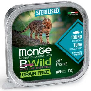 Monge Bwild gatto  Paté terrine vari gusti – Sterilised