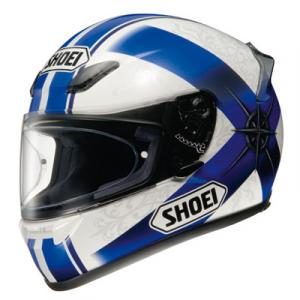 CASCO SHOEI XR 1100 SYMBOL WHITE/BLUE/BLACK