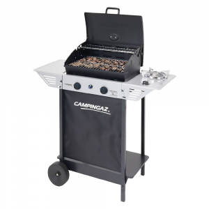 BARBECUE A GAS 'EXPERT 100LS+ROCKY' kw 7,1 + kw 2,1   PZ 1
