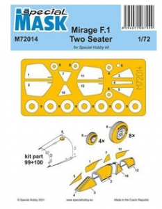 Mirage F.1 Two Seater Mask